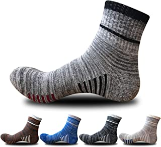 5 Pairs Mens Ankle Sock Low Cut Sports Running Cycling Crew Cotton Casual Socks