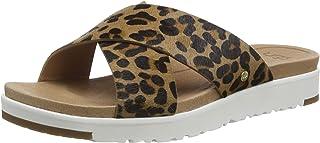 UGG Kari Leopard, Sandale Glissante Femme