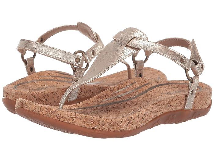Aetrex  Emilia (Gold) Womens Sandals