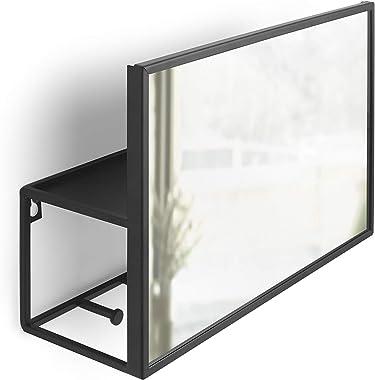 Umbra Entryway Wall Mirror, Black