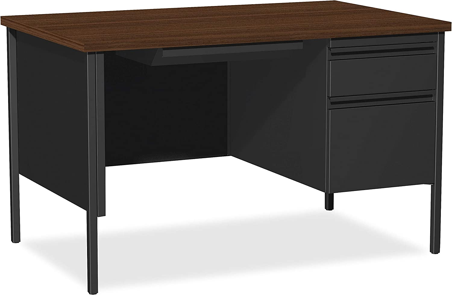 Lorell Single Right Pedestal Ranking TOP17 Desk 48 Ranking TOP19 29-1 Blac by 2-Inch 30
