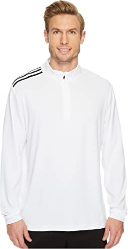 adidas Golf - Classic 3-Stripes 1/4 Zip Pullover