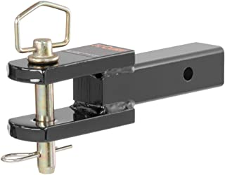 CURT 45821 Clevis Pin Hitch Ball Mount, Fits 2 Receiver, 6,000 lbs, 1-Inch Hole
