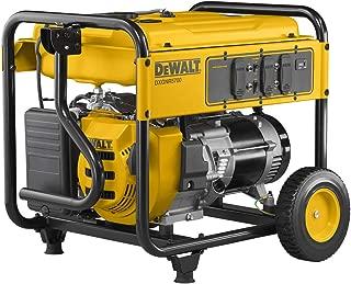 DEWALT DXGNR5700 5,700-Watt Gasoline Powered Recoil Start Portable Generator