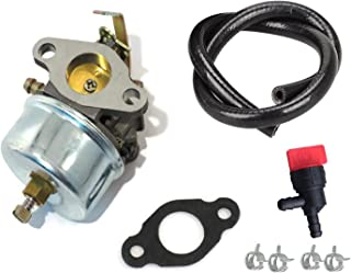 ouyfilters 632230 632272 carbure Tor Carb Kit with Fuel Shut Off Valve de 3 Feet Fuel Line For Tecumseh H30 H50 H60 HH60 E...