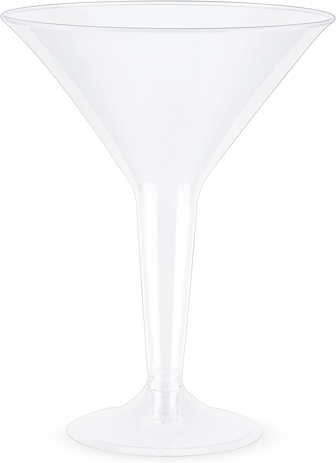 True Party Plastic Martini Glass Size Set Multicolor Max Opening large release sale 87% OFF One