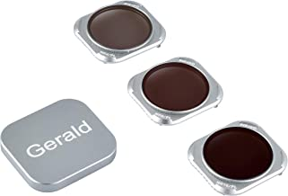 Gerald Upgrades Lens ND Filters CPL Filters 3-Pack (ND4/PL,ND8/PL, ND16/PL) for DJI Mavic 2 II pro with Installation Tool