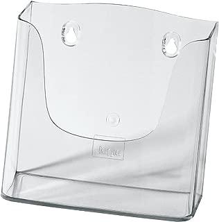 SIGEL LH116 Porta-folletos de pared acrylic, con 1 compartimento, Material acrílico, para A5, 1 unds.