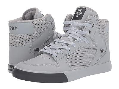 Supra Vaider (Light Grey/Light Grey/Dark Grey) Skate Shoes
