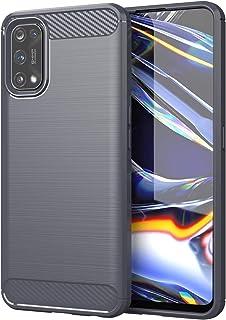 FanTing Case for Realme 7 Pro ، المضادة للانزلاق رقيقة جدا امتصاص الصدمات المضادة للخدش واقية ، غطاء ل Realme 7 Pro. (رمادي)