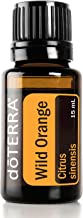 doTERRA - Wild Orange Essential Oil - Powerful Cleanser and Purifying Agent, Supports Healthy Immune Function, Uplifts Mind and Body; for Diffusion, Internal, or Topical Use - 15 mL