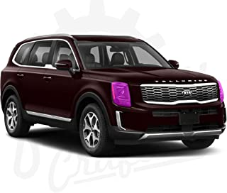 $69 » Sponsored Ad - Factory Crafts Paint Protection Film Clear Bra PPF Pre-Cut Decal kit Compatible with Kia Telluride 2020 (Fr...