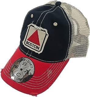 Boston Sports Apparel Trucker Hat: Boston Citgo - Navy/Red