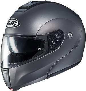 HJC Solid Men's CL-MAX 3 Modular Street Motorcycle Helmet - Semi Flat Titanium/Small