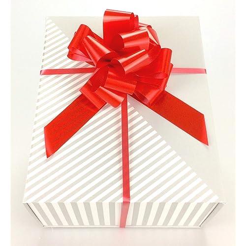 c7e3c69ea Luxury Medium Magnetic Closing Gift Present Box - with a Free Bow Empty  Storage Hamper Fill
