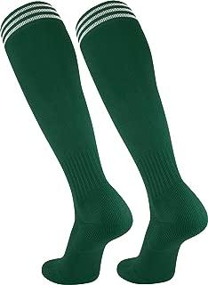 Elite proDRI Finale 3-Stripe Soccer Socks With Extra Cross-Stretch For Shin Guards (17 Colors)
