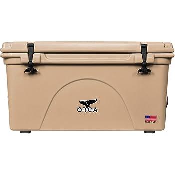 ORCA COOLERS, 75 Quart, Tan