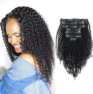 Best natural curly clip ins Reviews