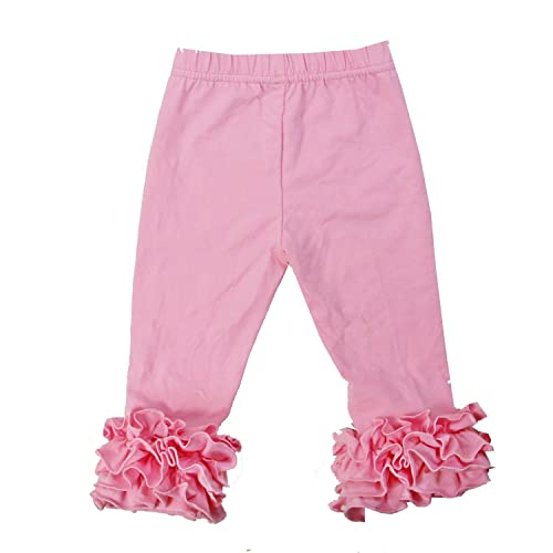 e026886e1 Kirei Sui Girls Light Pink Icing Ruffle Leggings
