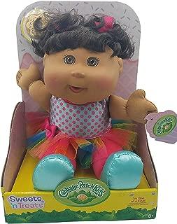 Cabbage Patch Kids Sweets n Treats Ethnic Dark Brown Hair Brown Eyes Cookie Included Exclusive