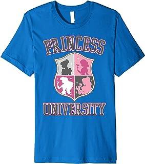 Disney Princess University College Text Logo Premium T-Shirt