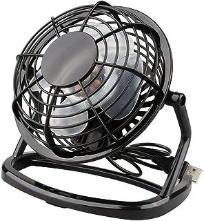 DaMohony Ventilador de pie de alta velocidad de 6in/14,9 cm, inclinación ajustable de 360 grados, ventilador de pie industrial de metal ideal para gimnasio en casa, hidropónico, oficina