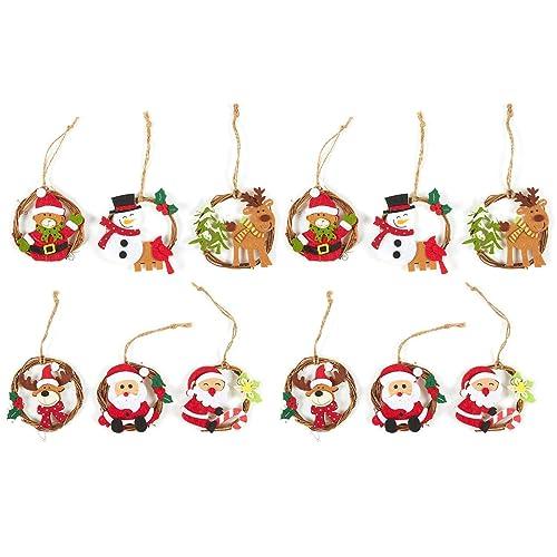Miniature Christmas Ornaments.Fabric Christmas Ornaments Amazon Com