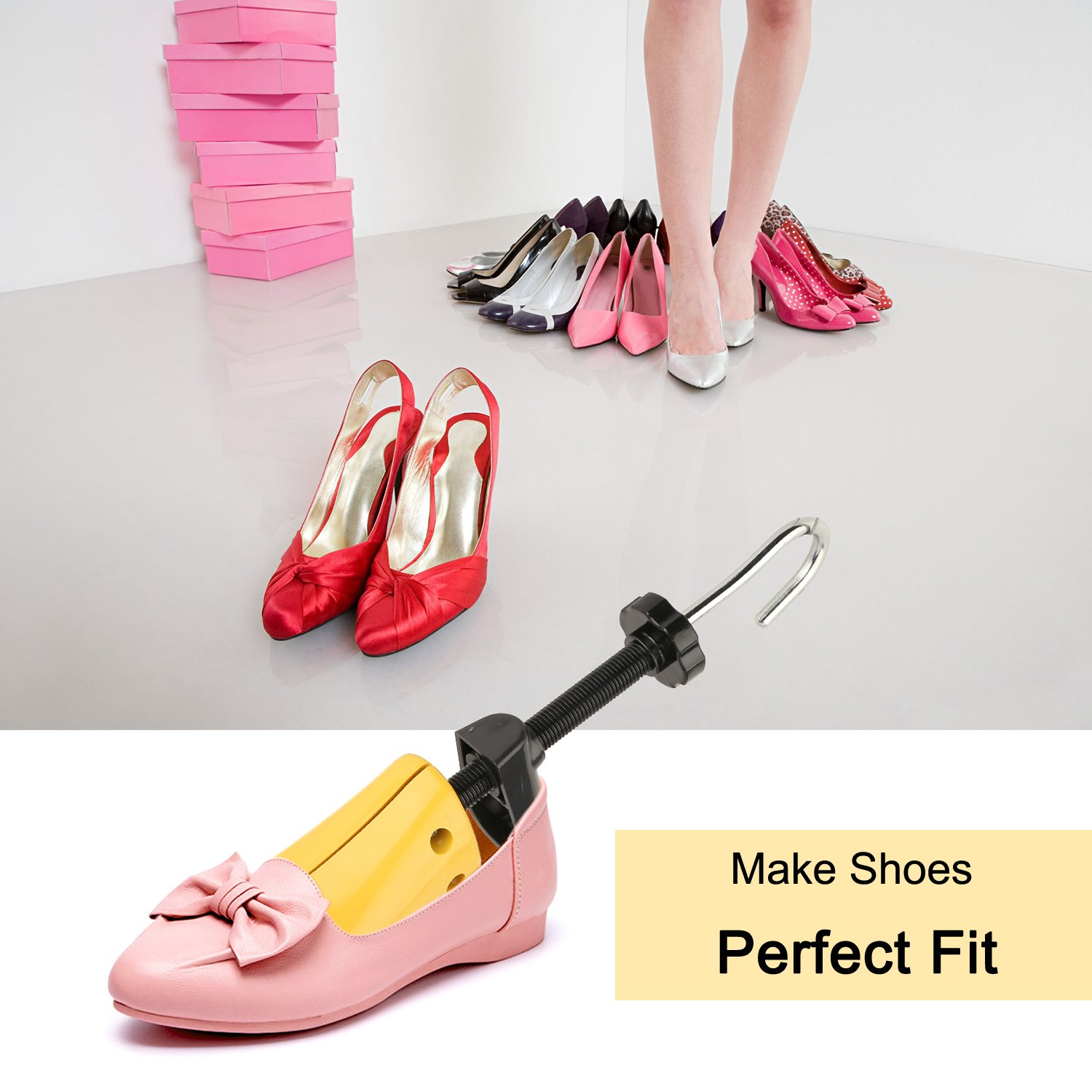 Halcent Pair of Two-Way Shoe Stretcher