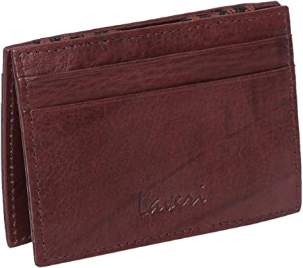 Laveri Magic Bill and Card Holder for Unisex - Leather