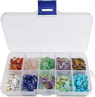 Cuentas de Piedras Preciosas,Piedras para bisuteria,Caja de cuentas de piedra,Piedra para Hacer joyería,Piedra para joyas,...
