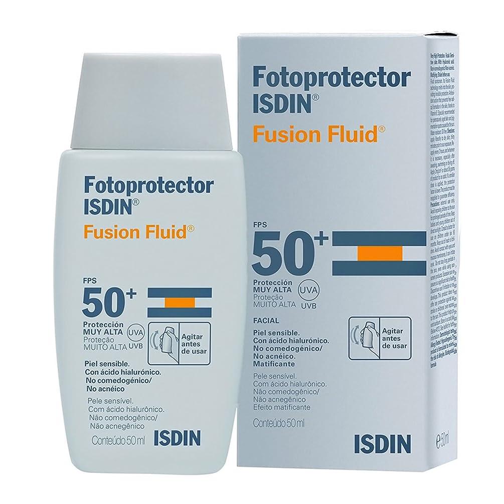 チャンピオンシップフレキシブル懐疑的Isdin Fotoprotector Fusion Fluid Spf50+ 50ml [並行輸入品]