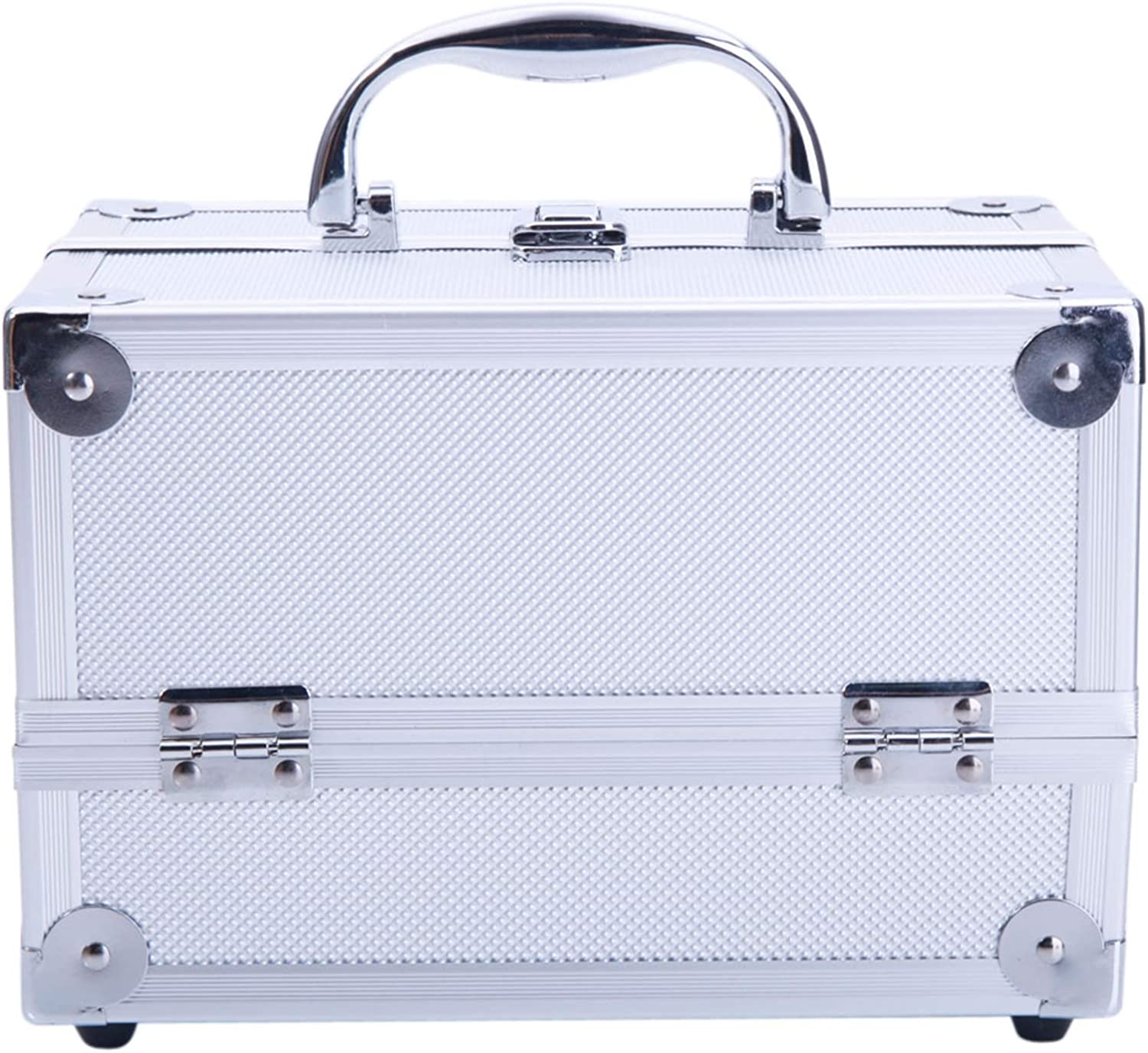 Trlec gt4-ly Aluminum Makeup Some Opening large release sale reservation Train Org Box Cosmetic Case Jewelry