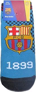 FCB, Calcetines 100% oficiales del FC Barcelona FCB para niños | Messi Suarez Neymar
