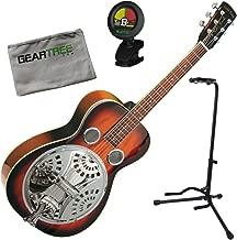 Gold Tone PBR Paul Beard Signature Roundneck Resonator Guitar w/Geartree Cloth,