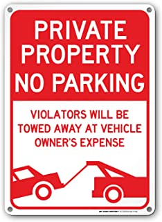 private parking tow away