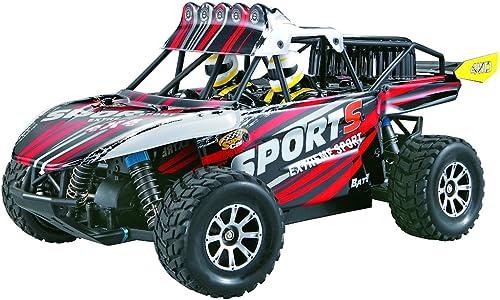 SIVA Desert Hopper Sport 50185, Rouge   Noir   Blanc, 2,4 GHz, 1 18 R C