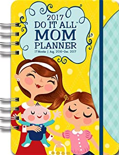 Orange Circle Studio 17-Month 2017 Do It All Planner, Mom's Do It All