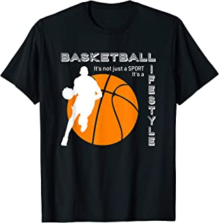 Funny Basketball Lifestyle Championship for Women, Men, Kids T-Shirt