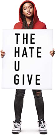 Book cover, review of The Hate U Give.