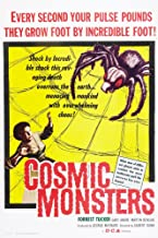 Posterazzi The Cosmic Monsters Aka The Strange World of Planet X Ga Print by Andre 1958 Movie Poster Masterprint, ((11 x 17)