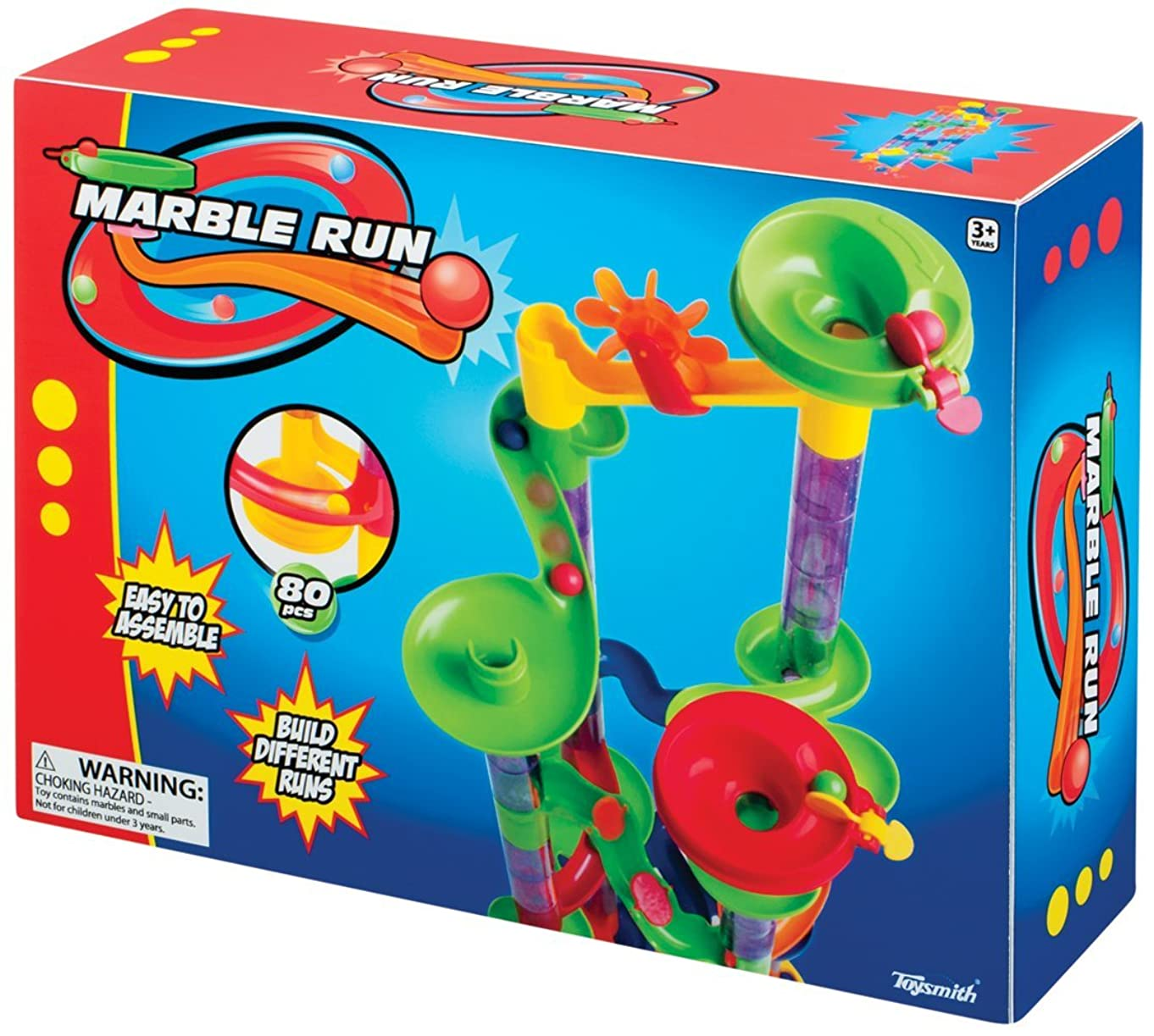 Toysmith 80-Piece Marble Run