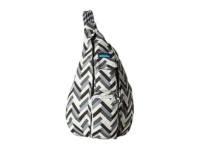 KAVU Rope Bag (Stone Parquet) Bags
