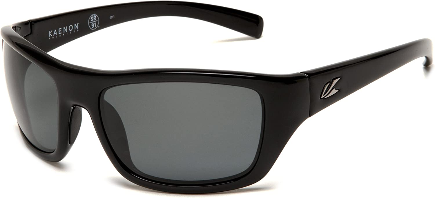 2b1beaf9dd89 Men's Kanvas Polarized Rectangular Black, 40 mm Sunglasses, Kaenon ...