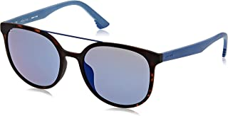 Police Oval Unisex Sunglasses Blue SPL634M