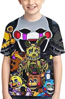 Five Nights at Freddy's 2Shirt Boys Girl Fashion 3D Print Short Sleeve Cotton T-Shirt