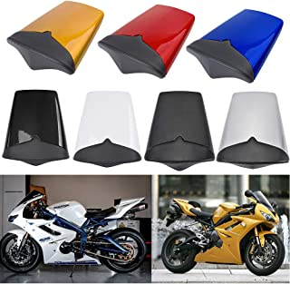 UltraSupplier Motorcycle Rear Passanger Pillion Seat Cowl Fairing Tail Cover for 2009 2010 2011 2012 Triumph Daytona 675 09-12 Motorbike Accessories Parts (Black)