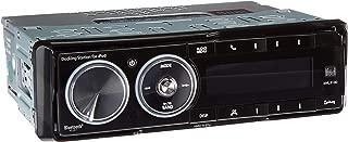 Dual Electronics XML8100 AM/FM Car Dashboard Mechless Receiver with iPod Docking Station, BT Ready, SWI, iPlug, and Remote (Black)