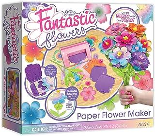 Kahootz Fantastic Flowers -- Classic Paper Flower Kit for Making Custom Paper Bouquets -- for Ages 6+