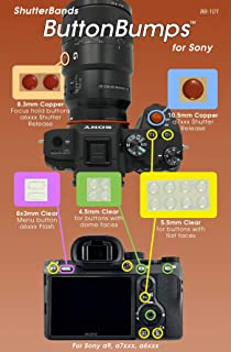 ShutterBands ButtonBumps for Sony E-Mount Cameras