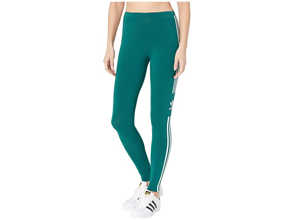 adidas Originals Trefoil Tights (Collegiate Green) Women
